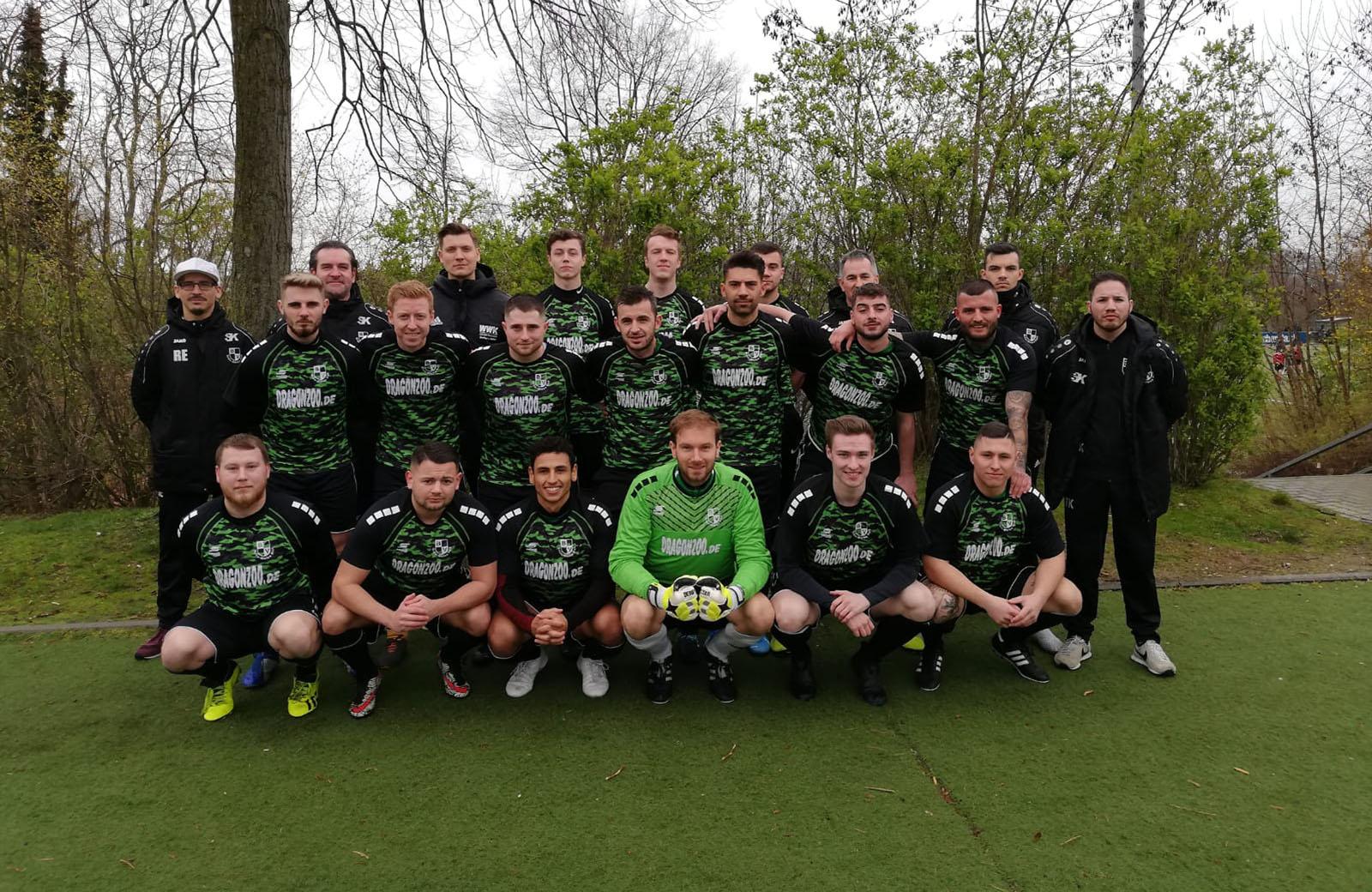 1. Mannschaft Grün-Weiß Holt