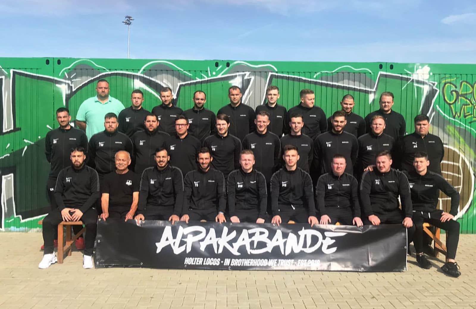 2. Mannschaft Grün-Weiß Holt